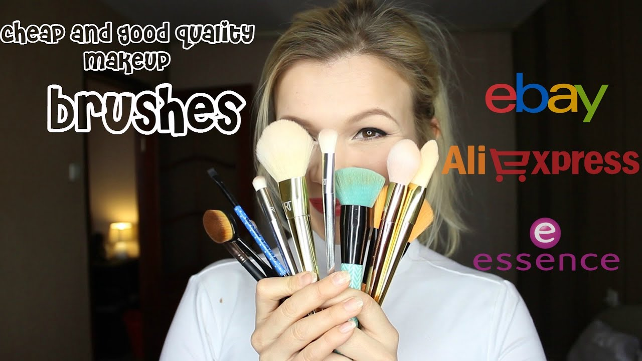 Cheap & Good Quality Makeup Brushes - YouTube