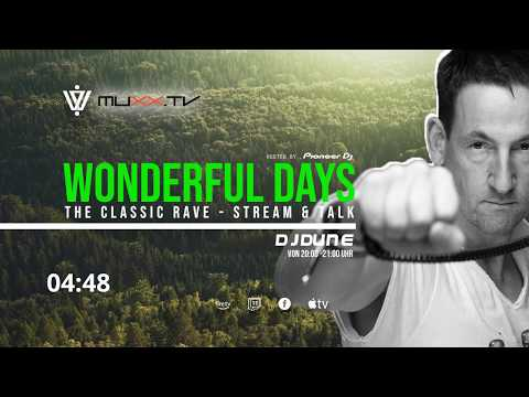 Wonderful Days - The Classic Rave | DJ Dune, Mijk van Dijk & Eric SSL | LIVE