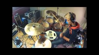 Alphabeat - Fascination drum cover (HD1080p)
