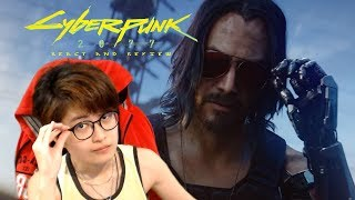 KEANU REEVES in Cyberpunk 2077 — Official E3 2019 Cinematic Trailer {My React & Review}