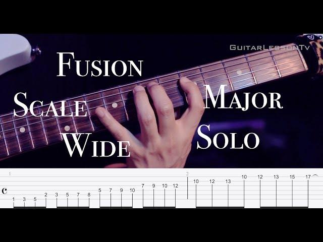 Fusion Wide Major Scale | 와이드 메이저 스케일