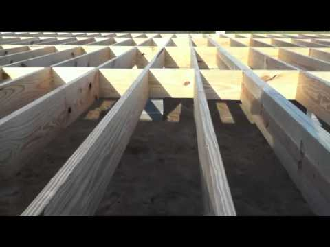 building a house floor and walls youtube ForHow To Build A Floor For A House