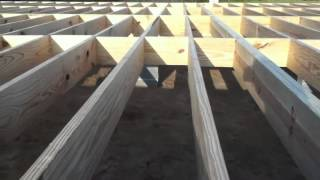 Building A House... Floor And Walls