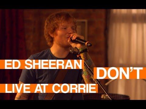 Ed Sheeran - Don't | LIVE at Coronation Street | In:Demand