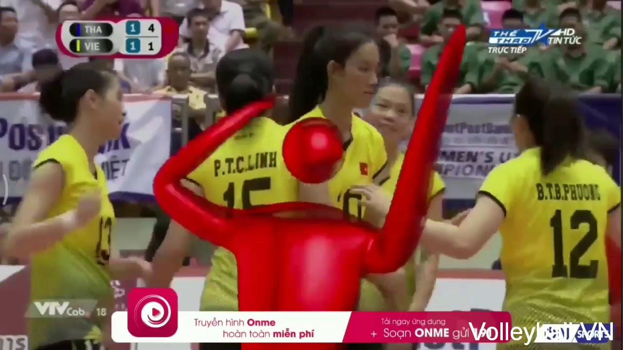 Highlight Bích Tuyền | U19 Vietnam-U19 Thailand | AVC Women Volleyball U19 Champions 2018