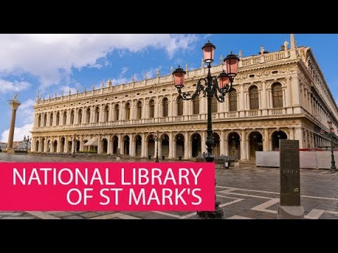 NATIONAL LIBRARY OF ST MARK'S - ITALY, VENICE