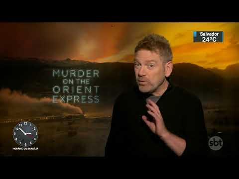 SBT entrevista ator e diretor de 'Assassinato no Expresso do Oriente' | SBT Notícias (01/12/17)