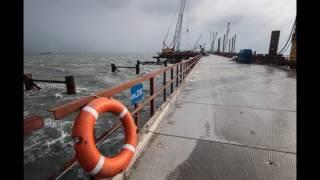 Керченский мост 2 февраля 2017 Строители керченского моста приступили к возведению морских пролётов