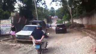 tom s moto taxi ride in haiti