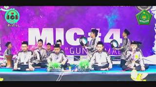 [JUARA 1] MTs SUNAN PANDANARAN PUTRA - Festival Hadroh MIC#4 MAN 2 Yogyakarta 2019