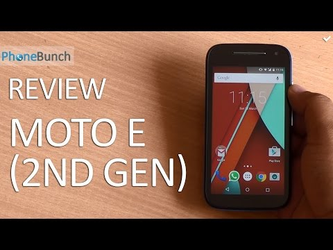 Moto E (2nd Gen) 2015 Full Review - Not A Game-Changer Anymore