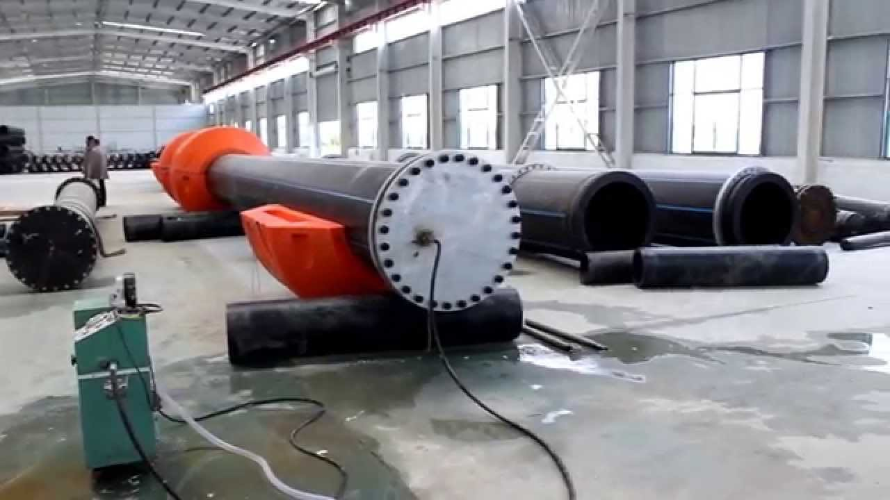 HDPE Pipe and Floater Testing