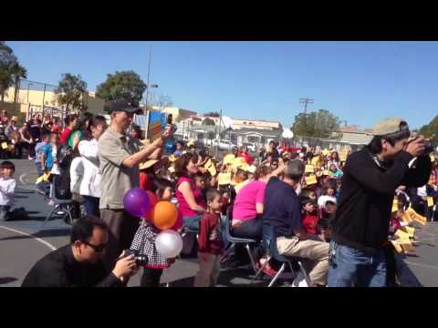 New year of the snake 2013 at Rosa Parks Elementary School
