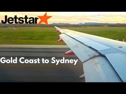FULL FLIGHT: Jetstar Airbus A320 | Gold Coast To Sydney