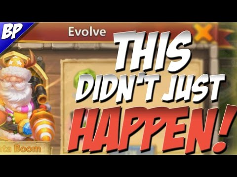 Castle Clash Double Evolving Santa Boom With A Huge Twist!