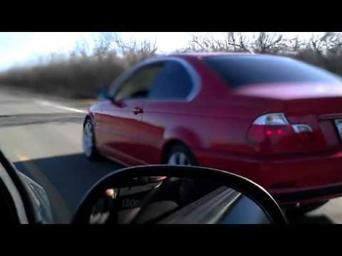 BMW 325I COUPE vs MUSTANG MANUAL