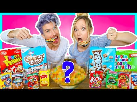MIXING EVERY FLAVOR OF CEREAL TOGETHER!