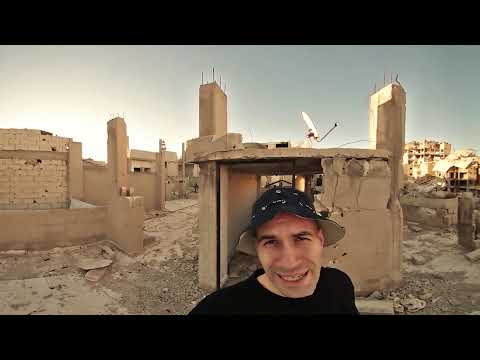 360° camera captures Syrian 'ghost town' of Homs