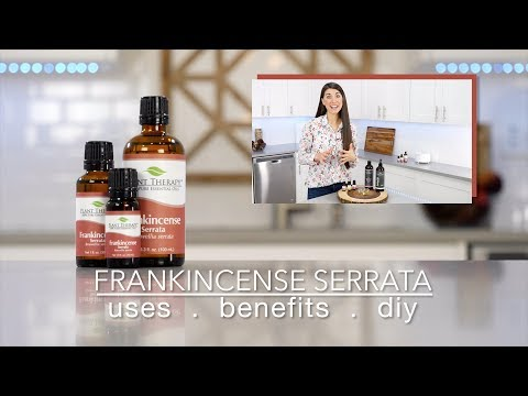 Frankincense Serrata Essential Oil: Best Uses & Benefits + Quick How To