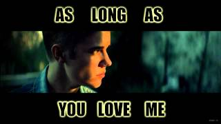 As Long As You Love me - Justin Bieber (Acapella)