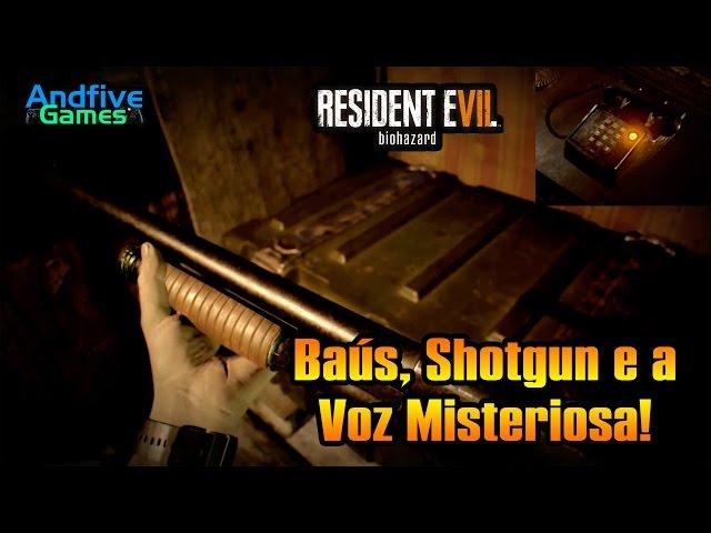 Resident Evil 7 Ba�s, Shotgun e a Voz Misteriosa