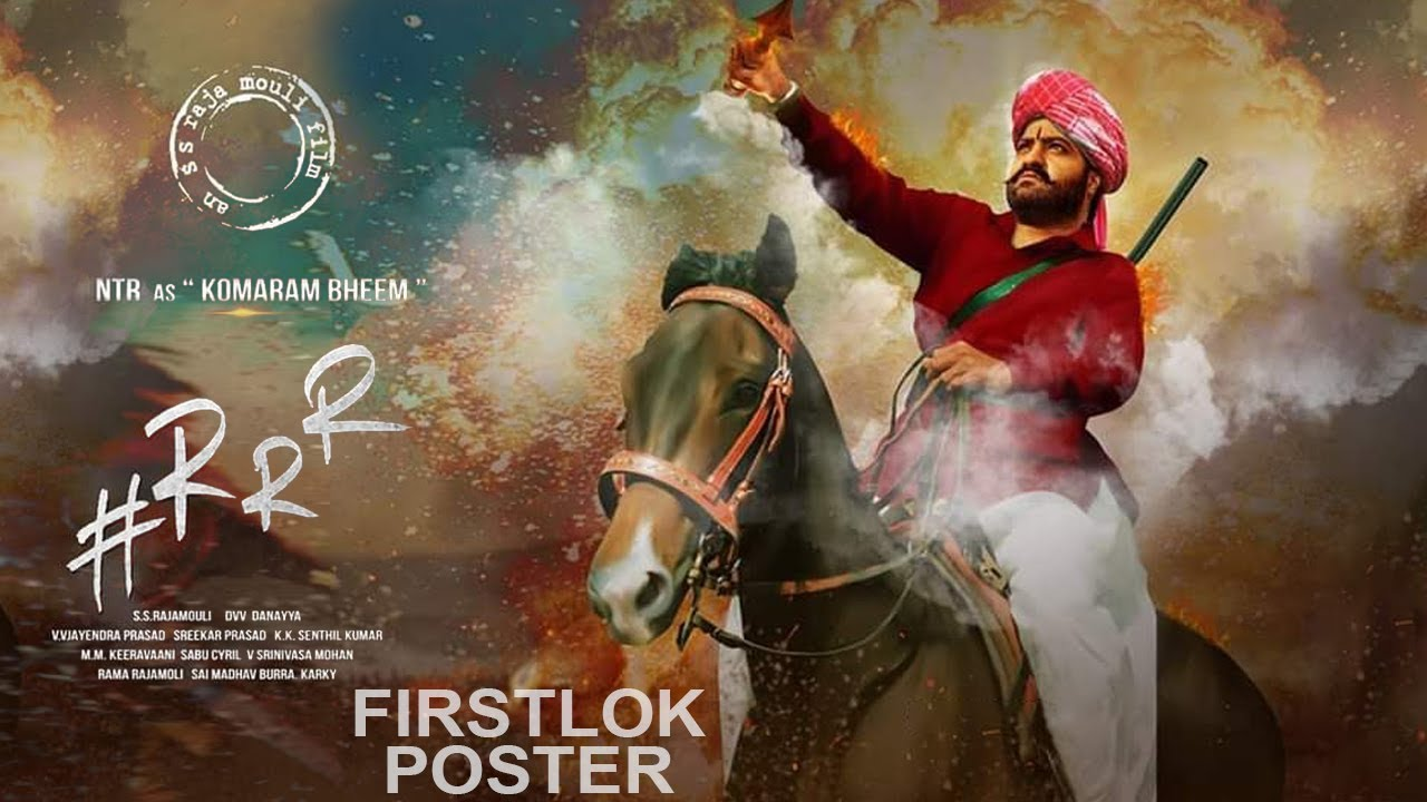 Jr NTR's First look from RRR Movie | Jr NTR Komaram Bheem First Look | RRR Movie Motion Poster | FL - YouTube