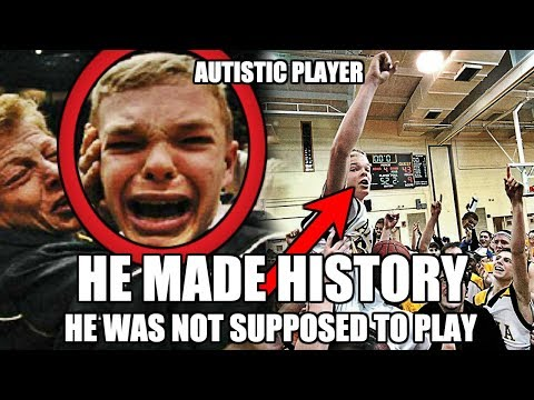He Was NOT Supposed To Play Basketball, But He Made History
