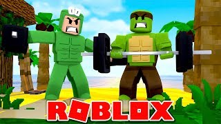 BECOMING THE STRONGEST PLAYERS IN ROBLOX! - w/ LittleLizard