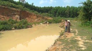 Nhiều mỏ khai thác đất ở Quảng Nam không hoàn thổ, phục hồi môi trường