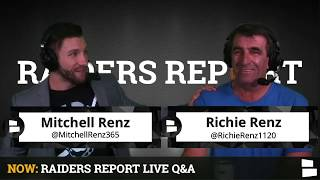 Oakland Raiders Report W/ Mitchell's Dad: Raiders Rumors + Embarrassing Stories, Q&A About Mitch