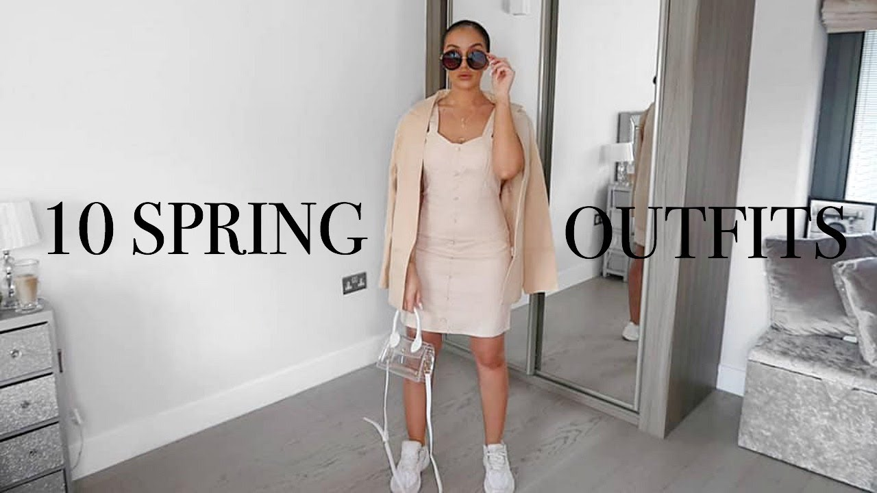 10 SPRING OUTFIT IDEAS // MISSGUIDED