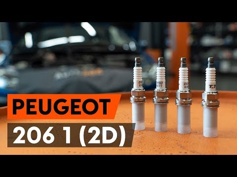 How to replace spark plug on PEUGEOT 206 1 (2D) [TUTORIAL AUTODOC]