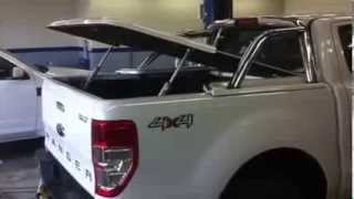 Ford Ranger T6 -PX - Autoremote Hard Covers