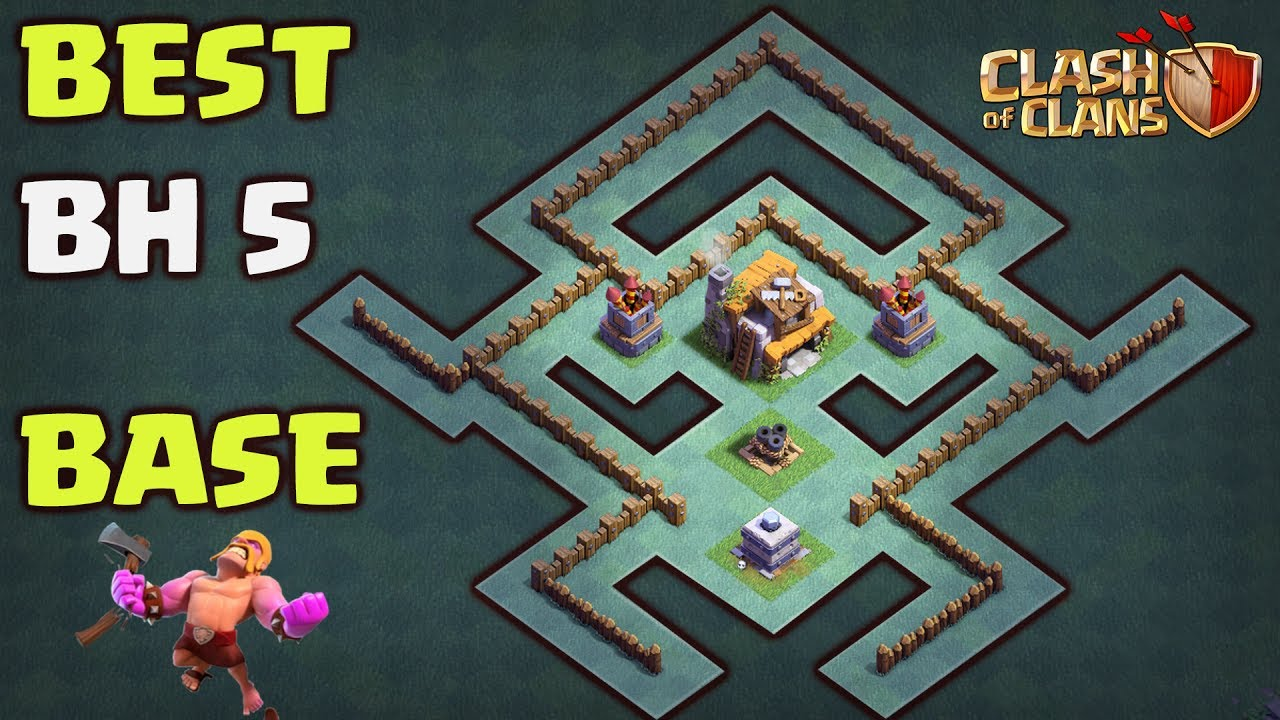 Best Builder Hall 5 Base Layout Ant Giant Anti