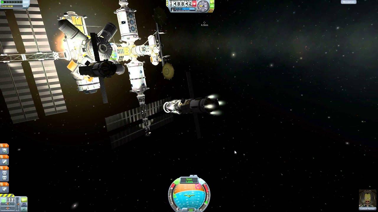 Soyuz Rocket in Kerbal Space Program (Stock/Vanilla) - YouTube