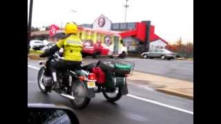 Sensational - a Russian bike URAL in America!  Live! Raw!