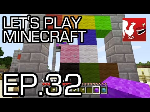 Let's Play Minecraft - Episode 32 - Wool Collecting Part 2