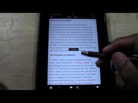 Kindle Fire HD: The Best Bible App​​​ | H2TechVideos​​​