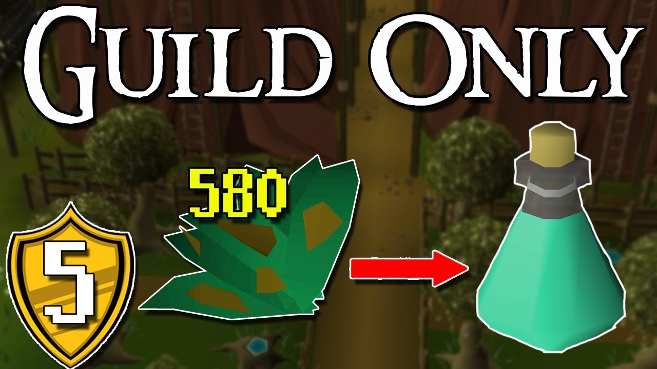 After 580 Tarromins Farmed from a Single Patch    Finally a New Potion! -  Guild Only #5 [OSRS]