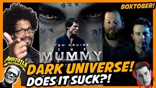 THE MUMMY, THE DARK UNIVERSE and other MONSTER MOVIES! Boxtober 2018 - Episode 3
