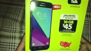 Straight Talk Phones - Galaxy J3 Unboxing: $50 BEAST!!