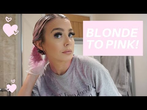 DYING MY HAIR PINK! 🌸