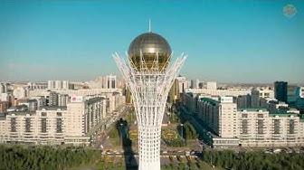 Astana von oben - Erster Eindruck
