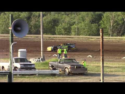 Hummingbird Speedway (7-13-19): Cypress Clock & Gift Shop Street Stock Heat Race