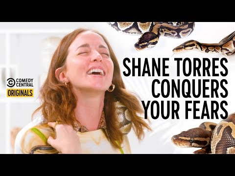 Molly Austin vs An Actual F**king Snake - Shane Torres Conquers Your Fears