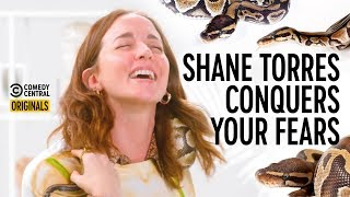 Molly Austin vs. An Actual F**king Snake - Shane Torres Conquers Your Fears