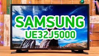 Samsung UE32J5000 - плоскопанельный телевизор с элегантным дизайном - Видео демонстрация