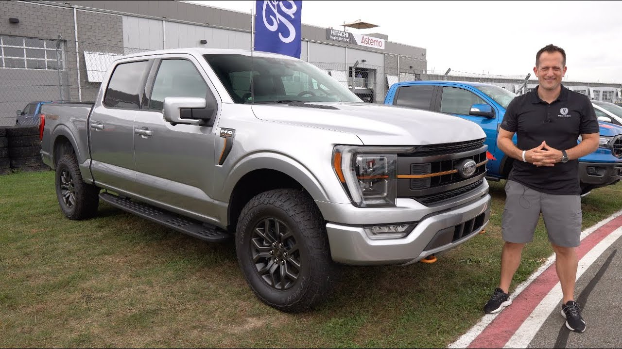 Download Is the NEW 2021 Ford F-150 Tremor a BETTER truck than a GMC Sierra AT4?