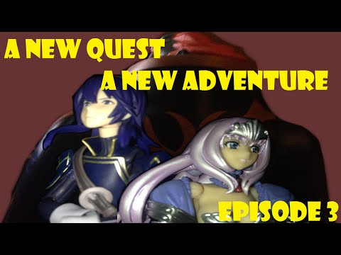 Stevo B's: A New Quest A New Adventure Episode 3 *Stop Motion Series*