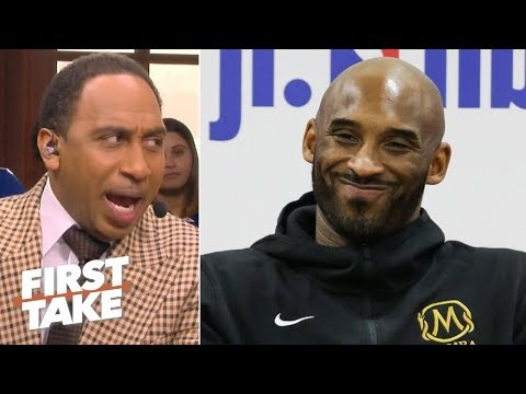 Stephen A. says Kobe denies attending Lakers' practices, refuting Lance Stephenson | First Take